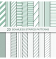 stripped patterns vector image vector image