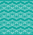 angel wings blue green art seamless sketch pattern vector image