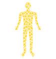 christian church person figure vector image