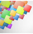 Colorful Squares Background vector image vector image