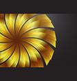 goldbackground vector image vector image