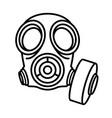 hazmat-mask-2 vector image vector image