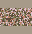random abstract chaotic triangular mosaic pattern vector image vector image