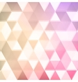 abstract defocused triangle background vector image