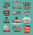 Food logotype restaurant vintage design cooking