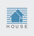 home logo vector image vector image