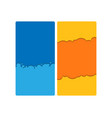 modern cover design for social networks vector image vector image
