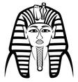 Tutankhamen vector image