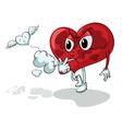 Unhealthy Heart vector image