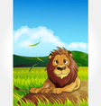 Wild animal set 13 of 32 - lion vector | Price: 1 Credit (USD $1)