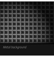 Dark metal background vector image