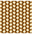 abstract metallic wickerwork pattern vector image vector image