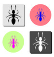 ant flat icon vector image