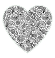 Beautiful Valentines day heart vector image vector image
