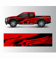 custom livery race rally offroad car vehicle vector image vector image