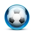 Glass icon sports themes for website or app vector image vector image