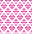 pink seamless wallpaper vector image vector image