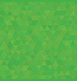 salad green shades background square of triangles vector image