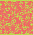 seamless background exotic florals neon colors vector image vector image