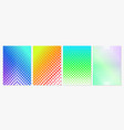set of minimal style covers vector image