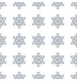 winter seamless background with snowflakes for vector image vector image