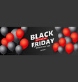 creative black friday sale background with vector image