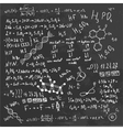 Formula Board vector image vector image