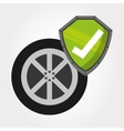 motorcycle insurance vector image