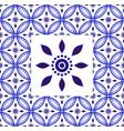 porcelain frame design vector image vector image