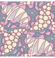 Abstract seamless pattern with hand drawn ornament vector image