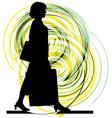 Businesswoman vector image