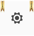 Bearing flat icon vector image vector image