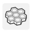 brick floor icon vector image