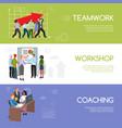 businesspeople teamwork infographics template vector image