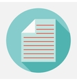 documents icon vector image vector image