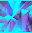 geometric background purple turquoise abstraction vector image