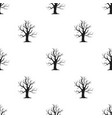 old tree icon in black style for web vector image