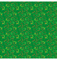 Seamless pattern mainly in green hues vector image vector image