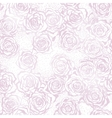 Seamless Roses Pattern EPS 10 vector image vector image