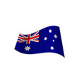 the flag of australia vector image