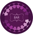 bar vector image vector image