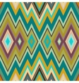 Color Abstract Retro Zigzag Background vector image vector image