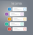 icon line property set of bill of sale pinpoint vector image