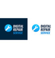 repair service digital equipment vector image vector image