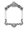 vintage imperial baroque mirror frame