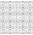 White geometry abstract seamless background vector image vector image
