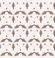 winter rustic fir tree lino cut texture seamless vector image