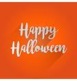 Happy Halloween Lettering Design vector image vector image