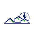 real estate arizona vector image vector image