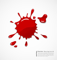 Red blood background vector | Price: 1 Credit (USD $1)